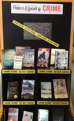 Library Displays: Once upon a crime