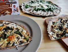 Žampionová pizza ze špaldové mouky se šmakounem – Kate's Cuisine