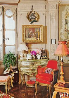 {décor | at home with : iris apfel, manhattan} by {this is glamorous}, via Flickr