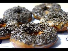 Como fazer Donuts simples, rápido e facil. - YouTube