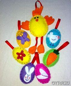 Felt Easter Crafts