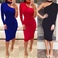 Nice Awesome USA Women Bandage Bodycon Off Shoulder Evening Party Cocktail Pencil Midi Dress 2017/2018 Check more at http://fashion-look.top/gallery/awesome-usa-women-bandage-bodycon-off-shoulder-evening-party-cocktail-pencil-midi-dress-20172018/