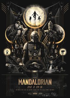 The Mandalorian (fraser gillespie) - Star Wars Poster - Ideas of Star Wars Poster - #starwars #posters #starwarsposter - Star Wars Clones, Star Wars Clone Wars, Star Trek, Star Wars Fan Art, Theme Star Wars, Pulp Fiction, Film Science Fiction, Images Star Wars, Star Wars Pictures