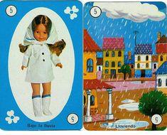 La baraja de Nancy constaba de 20 parejas de cartas que aquí os muestro. Al final tenéis el reglamento del juego. ...