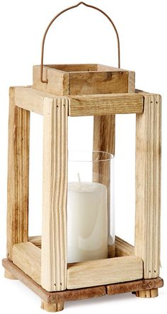 Build a Rustic Wood Lantern in an Hour - misc/ideas - Scrap Wood Projects, Woodworking Projects, Rockler Woodworking, Woodworking Videos, Barn Wood, Rustic Wood, Deco Luminaire, Diy Décoration, Easy Diy