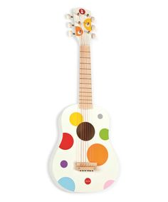 Another great find on #zulily! Confetti Polka Dot Guitar #zulilyfinds