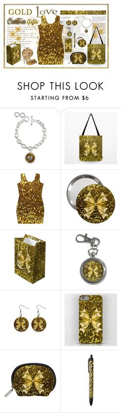"""""""Gold Christmas Gifts!"""" by elena-indolfi ❤ liked on Polyvore featuring Jimmy Choo"""