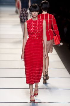 Fendi at Milan Fashion Week Spring 2014 - StyleBistro