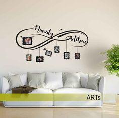 (3821n) #Nálepka na #stenu - #Navždy s tebou  #artsablony