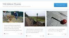 Dropbox registró  el último lunes  100 millones de usuarios usando su nube.  Su CEO, Drew Houston, refirió a TechCrunch que el disco curo virtual será el servicio de datos que conectará a todos los futuros dispositivos.