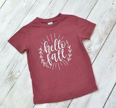 Hello Fall shirt - girls fall shirt - fall shirt for toddler - fall shirt for girls - fall shirt for baby by ShopHartandSoul on Etsy https://www.etsy.com/listing/467759152/hello-fall-shirt-girls-fall-shirt-fall