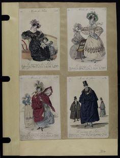 Mode. [XIXe siècle]. 1830 Cape, manteau