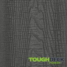Stone Grey Wood Grain WPC Decking Board - Pioneer+ Wpc Decking, Composite Decking, Grey Wood, Grey Stone, Pioneer Decks, Wood Grain Texture, One Sided, Surface, Boards
