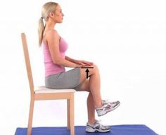 Seated Knee Marching