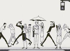"""Canis - Dear Mr.Rain - Ishie Hachi [ZAKK]"" Find Name, Shounen Ai, Webtoon, Manhwa, Monochrome, Anime, Cosplay, Fan Art, Illustrations"