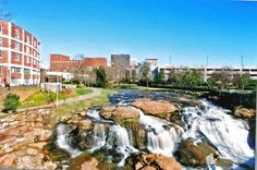 Reedy Falls, Greenville SC