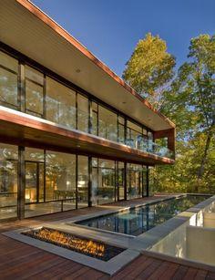 Residencia Wissioming: casa de lujo con oficina