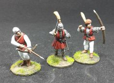 War of the Roses (1455–1487) Bowmen (Perry Miniatures)