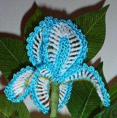 Dony's Creations by Donatella Saralli : Iris piccolo _ Pattern free italiano di Francesca Isernia
