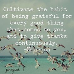Give thanks with a grateful heart!