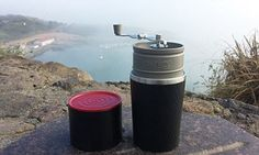 The coffee maker… all in one cup! Mug comes with a built-in grinder #DailyMail