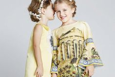 dolce gabbana girls sicilian temple dress