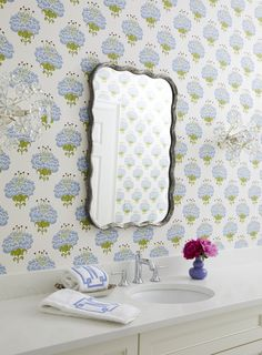Interior, Fabric Paint, Making Space, Wallpaper, Guest Bath, Fabric, Sweet Home, Interior Design, Wall Coverings
