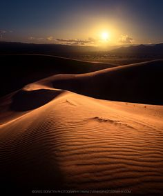 The Dune - Ibex dunes, Death Valley, CA, by Greg Boratyn...