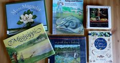 During our nature walk to look for ferns , I was inspired to row a book about fish and Higgens Bend Song and Dance popped into my mind.   ...
