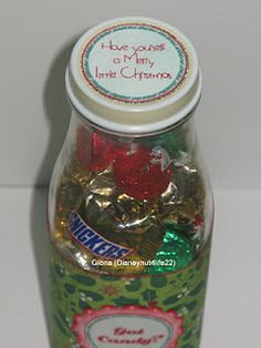 starbucks coffee bottle for candy gifts