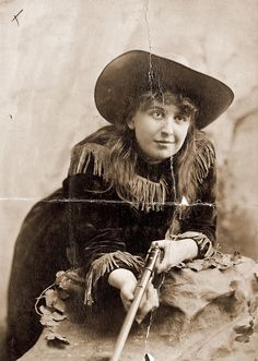 Sharpshooter, circus performer from John Robinson's Ten Big Shows (c. 1900-1910.)
