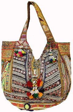 Manthan Creations - vintage banjara handbags gypsy handbags handmade tribal handbags