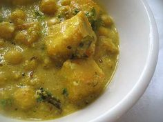 Chickpeas and Paneer in a Spicy Creamy Gravy | Lisa's Kitchen | Vegetarian Recipes | Cooking Hints | Food & Nutrition Articles