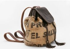 Chic Lost Property Bags are Made from Old Coffee Sacks : TreeHugger