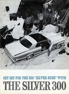 The 1957 forward look cars of chrysler corporation plymouth 1964 chrysler silver 300 fandeluxe