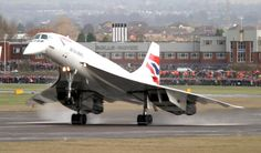 Fittingly, the final Concorde flight ever was that of Concorde G-BOAF, flying from London Heathrow Airport to Filton on November 26, 2003. Description from warbirdsnews.com.