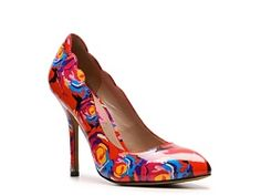 Why am I so into floral print pumps these days?  These are Betsey Johnson.  Super cute.