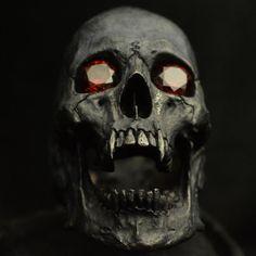 Into The Fire Jewelry - Skull ring Vampire open jaw Red Garnets silver mens skull biker masonic handmade jewelry etsy Vampire Skull, Vampire Tattoo, Crane, Silver Skull Ring, Skull Rings, Skull Reference, Skull Painting, Skull Artwork, Red Gemstones