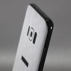 Samsung Galaxy S8 Plus - Brushed Aluminium Skins
