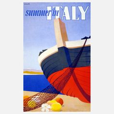 Summer In Italy Print 18x24 now featured on Fab.