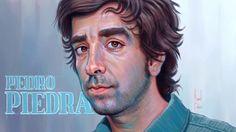 Pedropiedra, Retrato digital por Manuel Berrios C. Artista visual chilen...
