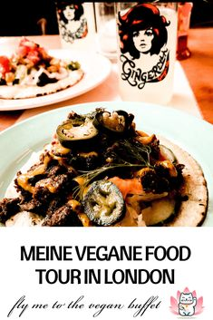 Vegan Food tours are my new hobby! Let me tell you about the vegan food tour I went on in London Shoreditch. Food Court, Ginger Ale, Kimchi, London Vegan, Meal Prep Services, American Diner, Unique Restaurants, Hacks, Vegan Fashion