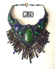 Guzel Bakeeva is a russian beadworkartist. Her jewellery works are amazing and beautiful. There is
