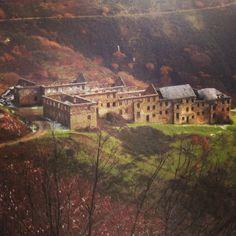 Ruinas del poblado minero del Wolfram