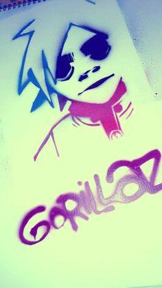 Gorillaz phase 1 2D