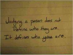 Judging..