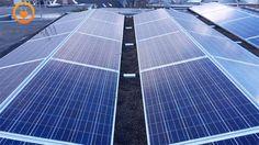 Oost-west oriëntatie met 28 zonnepanelen van Risen Energy, SolarEdge omvormer systeem en Fusion montagesysteem