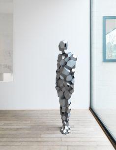 2013-03-antony-gormley Antony Gormley, Sculptures Céramiques, Sculpture Art, Zbrush, 3d Figures, Artistic Installation, Human Art, Art Fair, Public Art