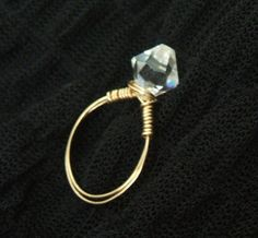 Wire-wrapped Ring – Step by Step Beading Project
