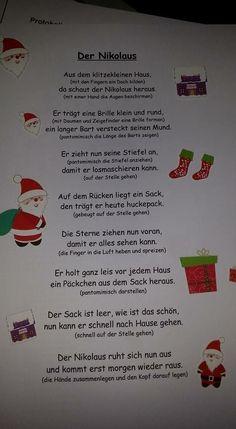 Nikolaus Gedicht #spielebasteln notes2.dogstyle.gq/